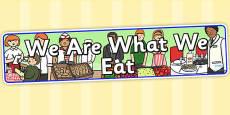 Australia - We Are What We Eat IPC Display Banner