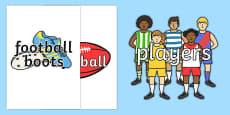 Australian Football League Topic Words On Topic Images