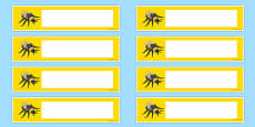 Bumble Bee Themed Editable Drawer-Peg-Name Labels (Colourful)