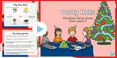 KS1 Party Hats PowerPoint