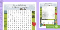 Mother's Day Word Search - Spanish