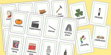 Three Syllable CL Flash Cards