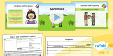PlanIt - RE Year 1 - Easter and Surprises Lesson 4: Surprises Lesson Pack