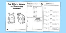 Year 3 Maths Addition and Subtraction Workbook