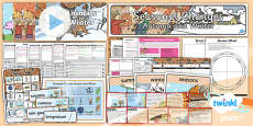 PlanIt - Science Year 1 - Seasonal Changes (Autumn and Winter) Unit Pack