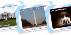 Washington DC Tourist Attraction Posters