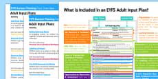 EYFS Winter Themed Bumper Planning Pack Overview