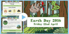 Earth Day 2016 Assembly Presentation