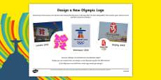 The Olympics Design a Logo Activity Sheet