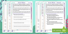 Javan Rhinos Differentiated Activity Sheets -