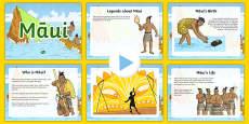 Māui Legend Information PowerPoint