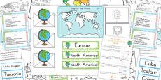 Australia - Countries of the World Lapbook Creation Pack