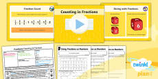 PlanIt Y3 Fractions Lesson Pack Recognise and Use Fractions as Numbers (1)