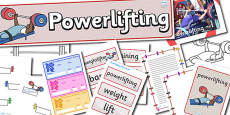 The Paralympics Powerlifting Resource Pack