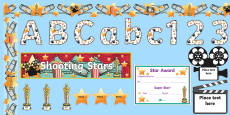 * NEW * Film Star Reward Display Pack
