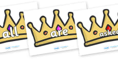 Tricky Words on Crowns