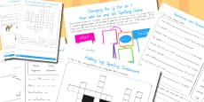 Australia - Year 2 Spelling Activities Resource Pack