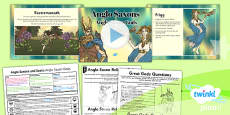 PlanIt - History LKS2 - Anglo Saxons and Scots Lesson 5: Anglo Saxon Gods Lesson Pack