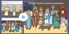 The Nativity Christmas Story PowerPoint Polish
