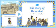 The Story of Hanukkah PowerPoint