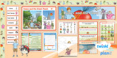* NEW * PlanIt Y4 Explorers: James and the Giant Peach Additional Resources