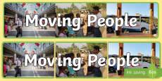 Moving People IPC Photo Display Banner