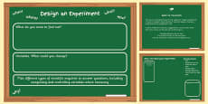 Scientific Enquiry Planning Template