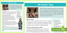 All Saints Day Fact File