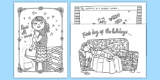 Funny Teaching Mindfulness Colouring Pages