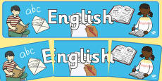 English Display Banner NZ
