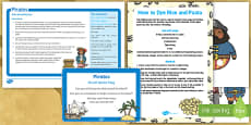 * NEW * Pirates Small World Play Idea and Printable Resource Pack