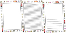 Post Office Full Page Borders