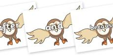 Connectives on Hullabaloo Owl to Support Teaching on Farmyard Hullabaloo