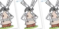 Next 200 Common Words on Windmills