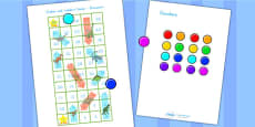 Snakes and Ladders Activity Dinosaurs