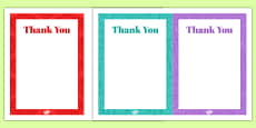 100th Birthday Party Thank You Notes