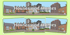 Houses and Homes Display Banner