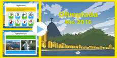 KS2 Olympic Games Rio 2016 PowerPoint Polish