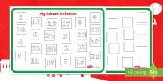 Design an Advent Calendar Activity