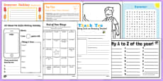 Top 10 KS1 End of Term Activity Pack