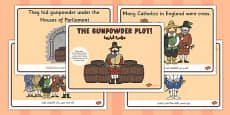 The Gunpowder Plot Story Sequencing Arabic Translation