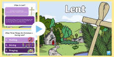 * NEW * When is Lent? PowerPoint