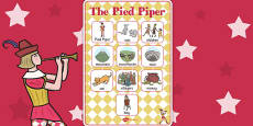 The Pied Piper Vocabulary Poster
