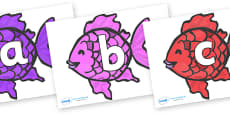 Phoneme Set on Fish (Multicolour) to Support Teaching on The Rainbow Fish