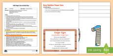* NEW * EYFS Busy Builders Finger Gym Plan and Resource Pack