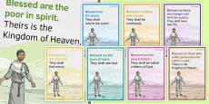 Beatitudes Display Posters