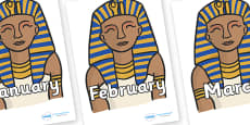 Months of the Year on Pharaoh