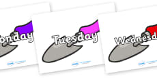 Days of the Week on Trowels