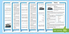 Titanic Differentiated Reading Comprehension Activity English/Arabic
