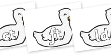 Final Letter Blends on Mother Duck